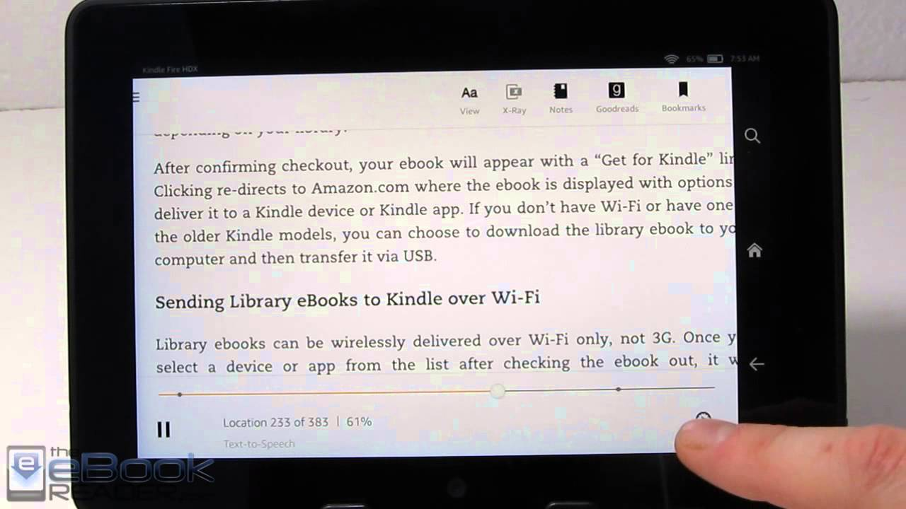 Kindle Text to Speech Review