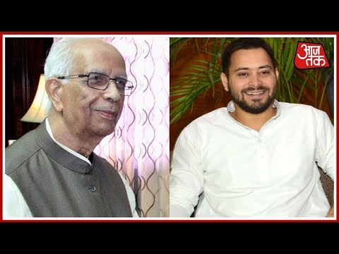 Tejashwi Asks Governor To Stall Nitish's Swearing-In, Give RJD Chance To Prove majority