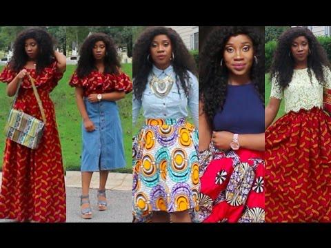 Ankara Skirts | How To Style |
