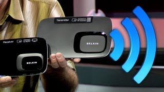 Affordable Wireless HDMI_ DVDO Air vs. Belkin ScreenCast AV4 120,000 lumens of Digital Projection!