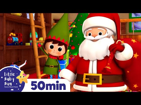 Jingle Bells | Christmas Songs | Plus Lots More Childrens Songs! | 55 Mins from LittleBabyBum!