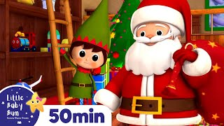 Jingle Bells | Christmas Songs | And More Children's Songs! | 56 Minutes Long | From LittleBabyBum