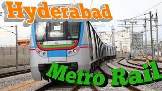 Hyderabad Metro Rail in Said