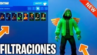 FILTRATION ALL NEW SKINS, BAILES AND VEHICLES IN FORTNITE!! (SEASON 8 FILTRATION)