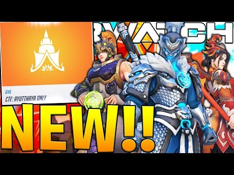 OVERWATCH YEAR OF THE DOG NEW EVENT MAP GAMEPLAY! NEW CTF COMPETITIVE MODE!?