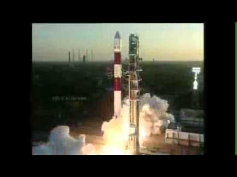 Rocket Launch - ISRO PSLV-C20 (25 Feb 2013)