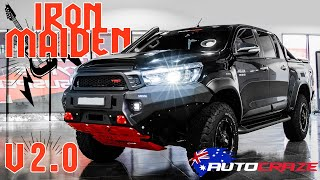 IRON MAIDEN v2.0 // Toyota Hilux Build - Rival Bar, Snorkel, Tyres, Lift Kit, Grid GD07