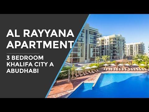 Al Rayyana 3 Bedroom Apartment Aldar Khalifa City A Abu Dhabi