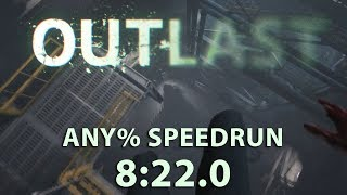 Outlast Any% Speedrun 8:22.0 (PC)