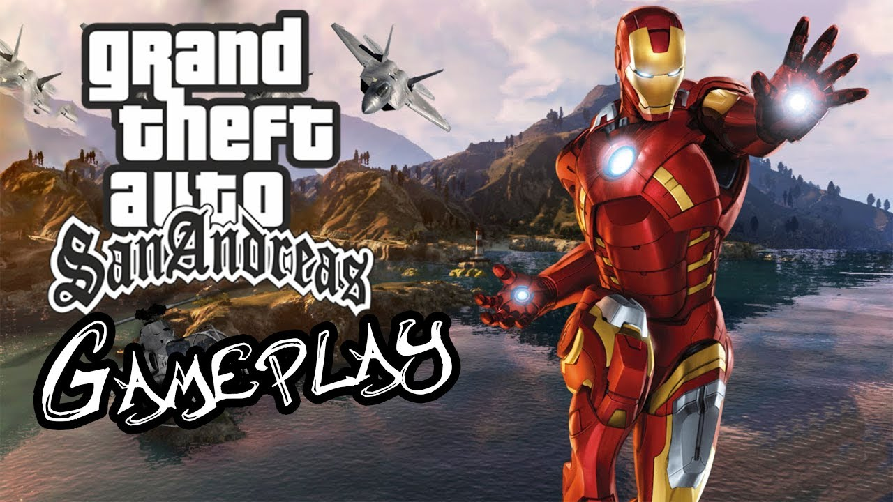 How to install IRONMAN mod in GTA San Andreas And Gameplay controls