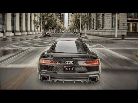 ► GTA 5 8K REAL LIFE Graphics ✪ Audi R8 2020 - BRUTAL Sound 🔥 RTX™ 2080 Ti & i9-9900k