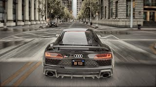 ► GTA 5 8K REAL LIFE Graphics ✪ Audi R8 2020 - BRUTAL Sound 🔥 RTX™ 2080 Ti & i9-9900k