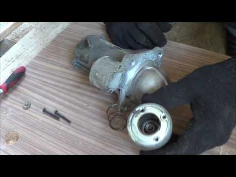 Переборка (ремонт) стартера Ford Fusion 1.6i
