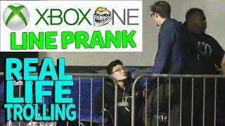 XBox One Line Cutting Prank!