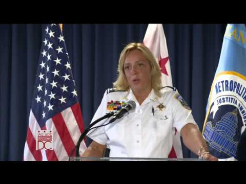 Mayor Bowser Announces Retirement of Police Chief Lanier, 8/16/16