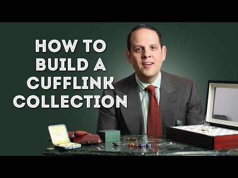 My Cufflinks & How To Build A Cufflink Collection - Gentleman's Gazette