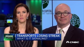 Transport volumes shows global economy slowing, says expert