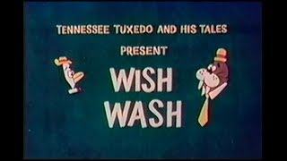 "Tennessee Tuxedo ""Wish Wash"" (un-restored) Tennessee goes green !"