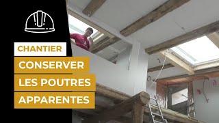Chantier référence avec BOOST'R HYBRID' et HYBRIS à La Flotte (Ile de Ré) : isolation de la toiture par l'extérieur et des murs par l'intérieur