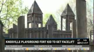 Fort Kid Playground Announces Renovation Plan