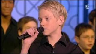 """Les Petits Chanteurs à la Croix de Bois """"Quand la musique est bonne"""" (avec Patrick Fiori)"""