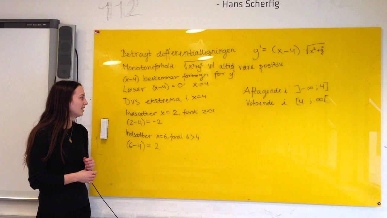 Differentialligninger - Opgave 14