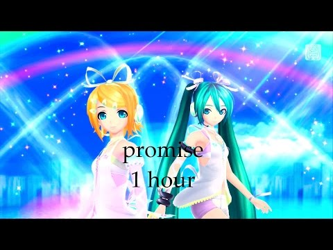 hatsune miku promise 1 hour