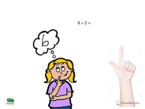 Kindergarten Math: Addition - Counting On on a Number Line (One ...