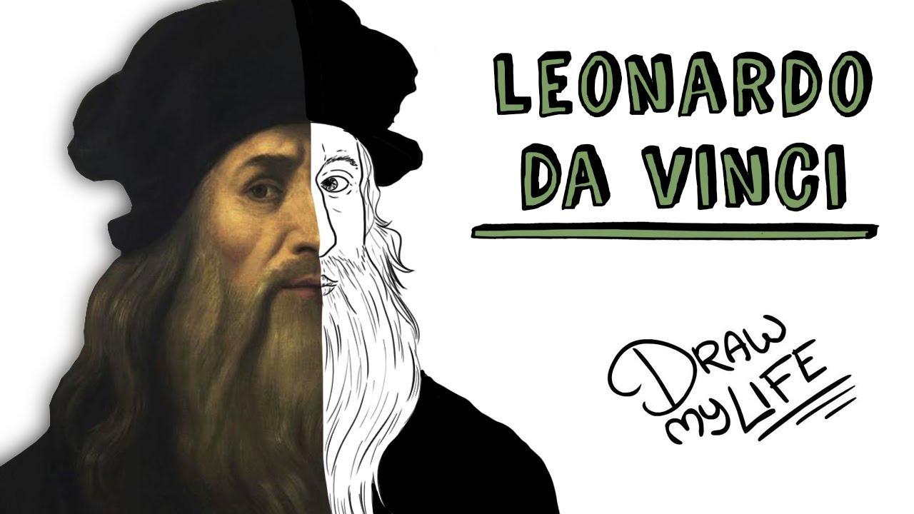 LEONARDO DA VINCI | Draw My Life