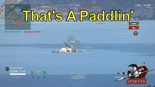 That's a Paddlin' (World of Warships Legends Xbox One X)