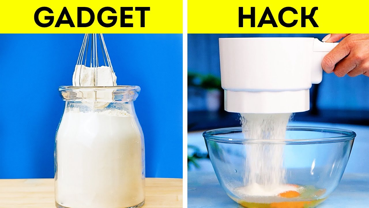 Kitchen Gadgets VS Hacks || Useful Kitchen Tools You Never Knew Existed!