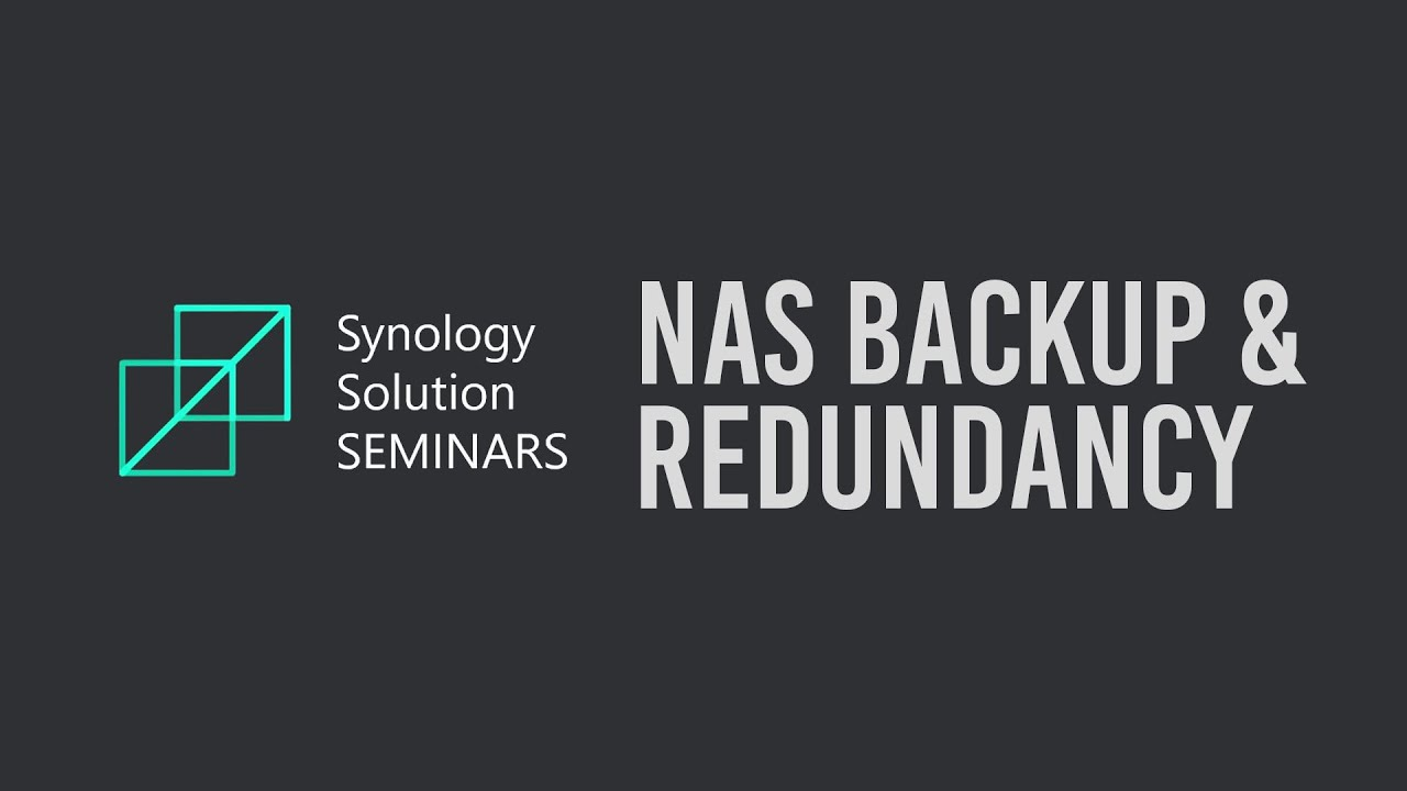 NAS Backup and Redundancy Best Practices   Synology