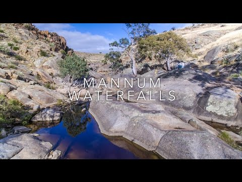 Murray River Bird aerial video - Mannum Waterfalls - Discover Murray River