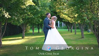 The Gardens Yalding Wedding - Tom & Georgina Wedding Film - Chris Spice Films