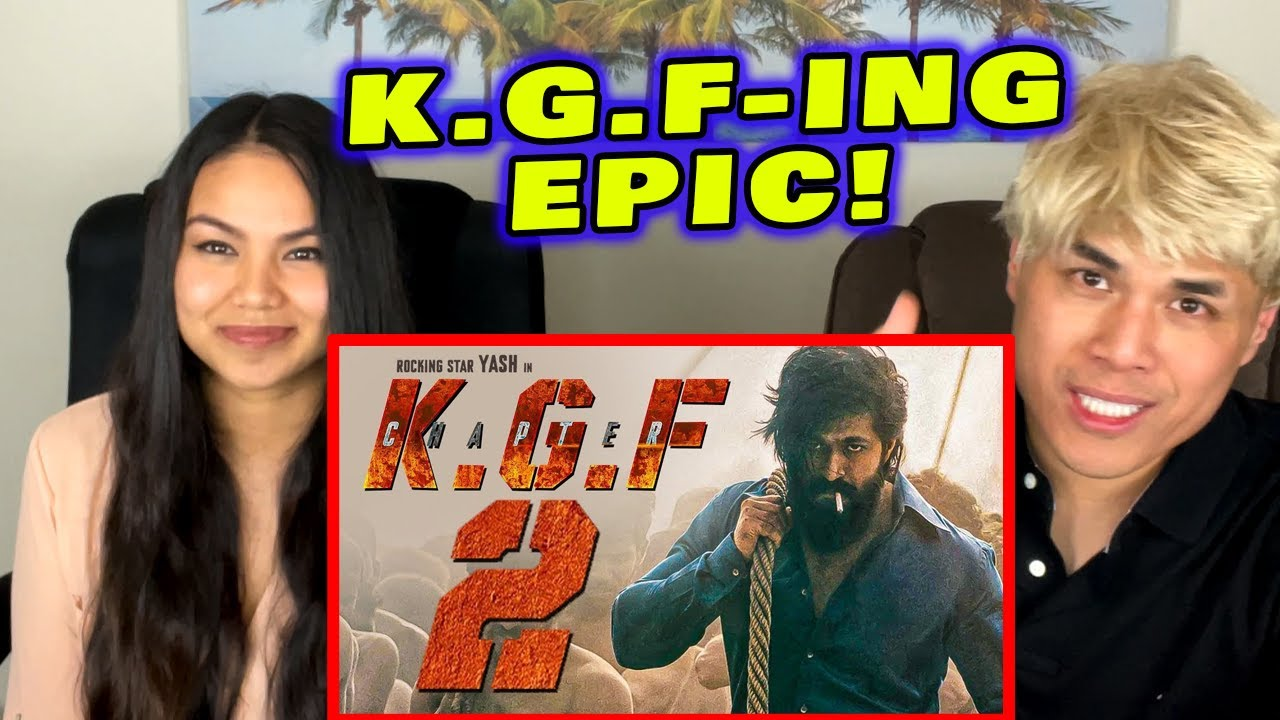 Download ASIAN AMERICANS 1ST TIME REACTION to KGF Chapter2 TEASER   EPIC