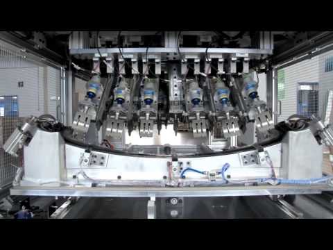 Ultrasonic Welding Workcell with patented 'MPC' & 'Trigger by Power' presented by Dukane