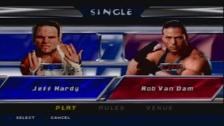 WWE SmackDown! Shut Your Mouth - Jeff Hardy vs RVD
