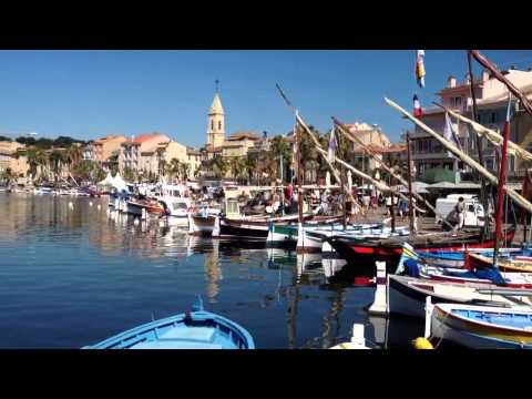Gorgeous harbour of Sanary-Sur-Mer, France
