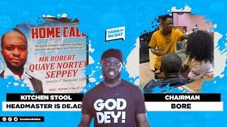 Kitchen Stool Challenge Inventor Is De.ad + Dem Take Shooow Chairman!
