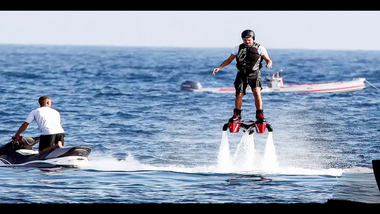 Flyboard The Coolest Water Boot - YouTube
