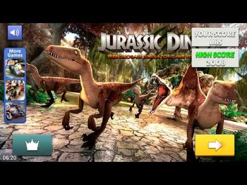 Симулятор Динозавра Jurassic Dino Simulator