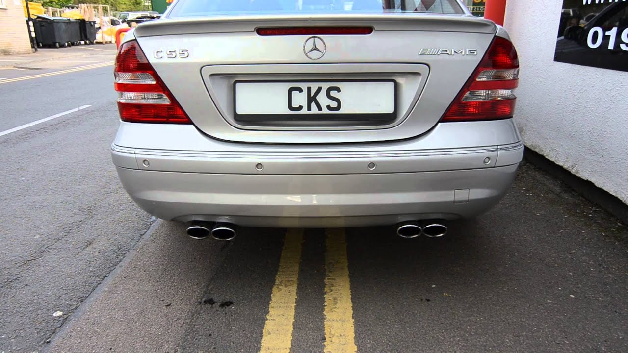 mercedes w203 amg c55 cks performance upgrades and exhaust. Black Bedroom Furniture Sets. Home Design Ideas