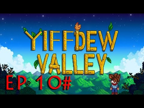 THE YIFF FARM! - Stardew Valley - Furry Mod EP 1# | FunnyCat TV