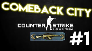 Comeback City!    CS:GO Ranked Adventures #1