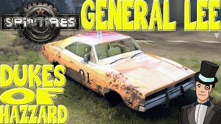 Spin Tires - GENERAL LEE FROM THE DUKES OF HAZZARD - Spintires Mod Spotlight