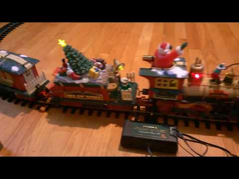 New Bright Musical Holiday Station Express Train