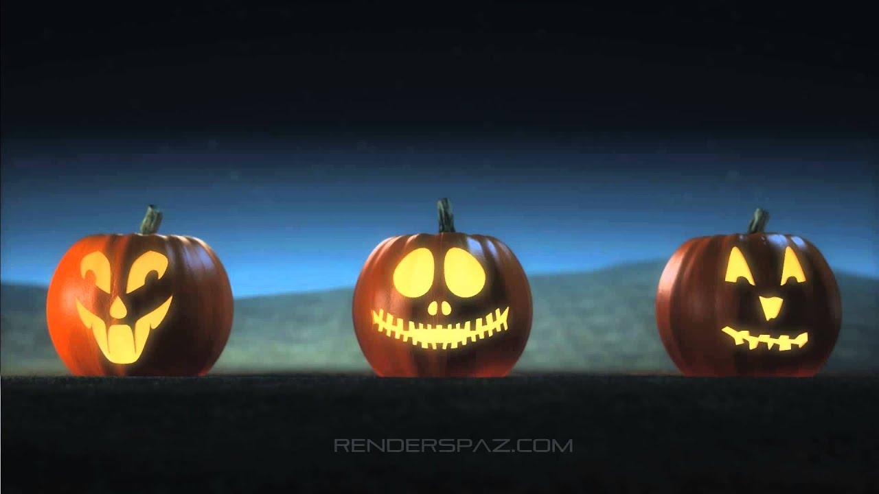 Halloween Animated Wallpaper - Jack O Lanterns - YouTube
