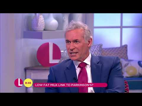 Dr Hilary Reports That Low Fat Milk Is Linked to Parkinson's Disease | Lorraine