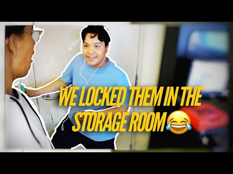 We LOCKED Our Friends In The STORAGE ROOM ! ???? | Compton High School Vlog #2 | *ALMOST CAUGHT*