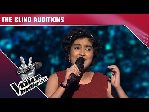 Asmi Mukherjee Performs on Salona Sa Sajan | The Voice India Kids | Episode 6
